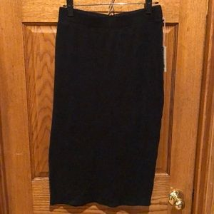 A New Day ribbed skirt.  Size m. NEW